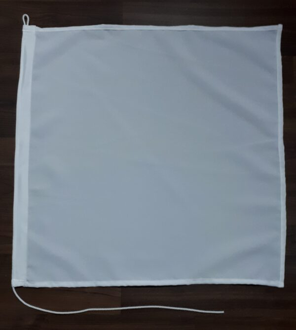 flagge-weiss-60x60cm-schleppfischen