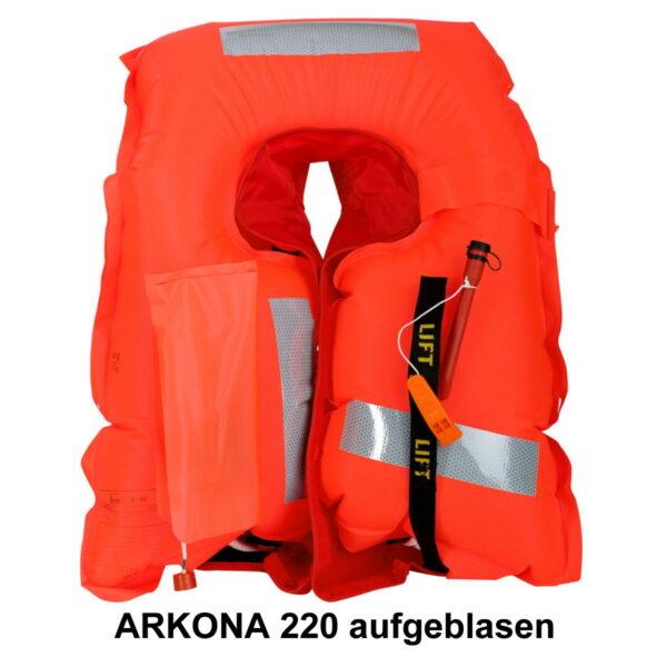 secumar-arkona-220-aufgeblasen