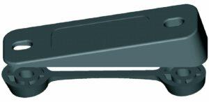 clamcleat-schraegsockel-cl819-mit-gegenplatte