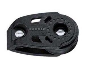 harken-29mm-carbo-liegeblock-1-rolle-mit-zwei-befestigungspunkten-fuer-tau-8mm