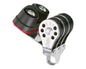 harken-micro-niederholerblock-kugellager-3-rollen-mit-buegel-und-klemme-6mm