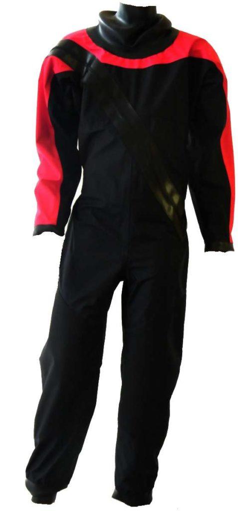 dry-fashion-trockenanzug-sailing-standard-nylon-rot-schwarz