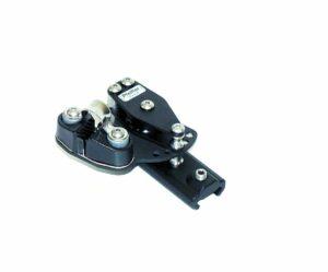 pfeiffer-kontrollblock-links-mit-2-rollen-und-klemme-gr2-fuer-schiene-23x25mm