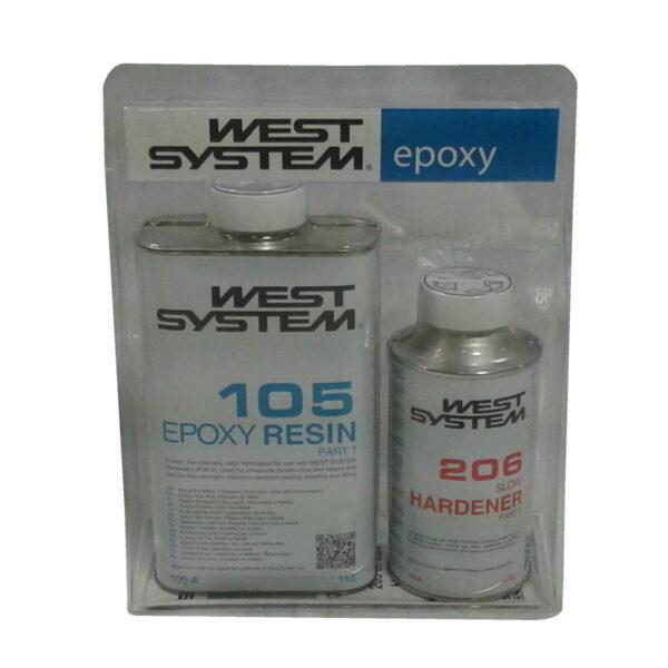 west-system-a-pack-langsamer-haerter-206-und-harz-105-1200g