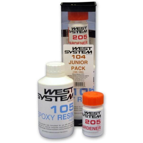 west-system-junior-pack-schneller-haerter-205-und-harz-105-600g