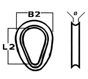 kausche-edelstahl-geschlossen-zeichnung