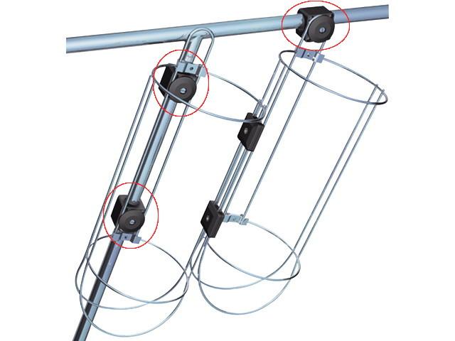 Nawa Relingbefestigung für Ø 25 mm Rohr