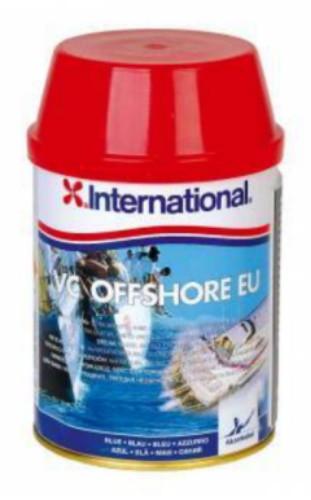 VC Offshore ist leistungsstarkes Antifouling für alle Bewuchsverhältnisse und ist für Motor- und Segelboote geeignet.