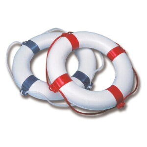 rettungsring mit pvc-ueberzug-blau-und-rot
