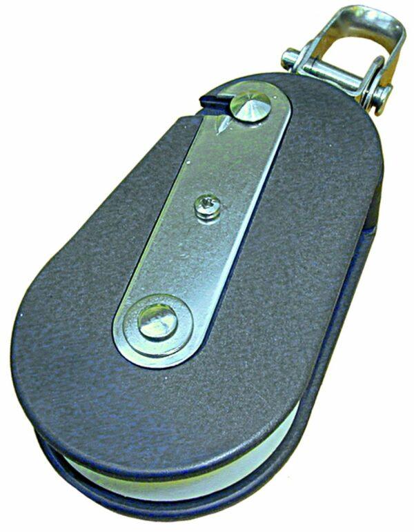 Barton Snatchblock mit Schäkel für Tau 12 mm
