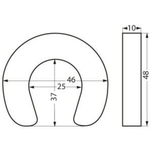 hufeisenrettungsring-pvc-masse